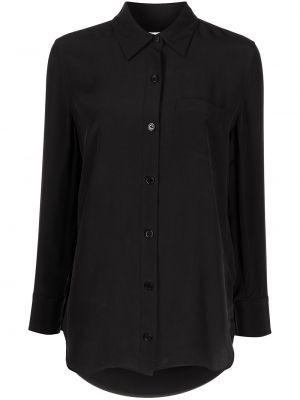 Черная длинная рубашка Equipment
