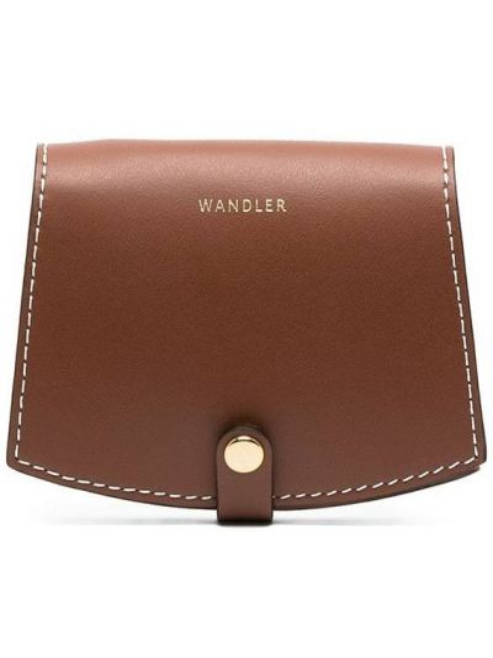 Brązowy portfel skórzany Wandler