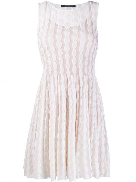 Платье с вышивкой трапеция Antonino Valenti