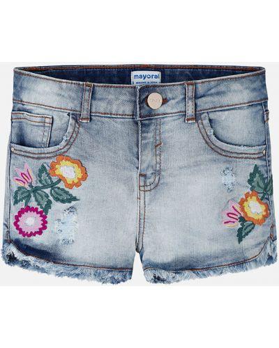 Шорты джинсовые хлопковые Mayoral