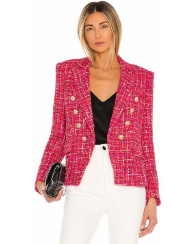 Ватная розовая куртка с карманами Generation Love