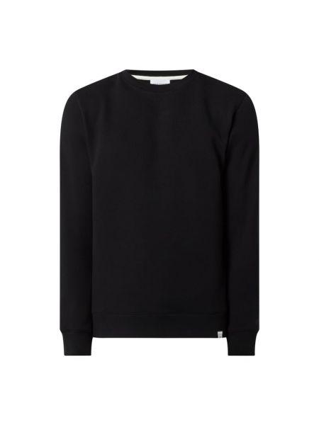 Bluza bawełniana - czarna Norse Projects