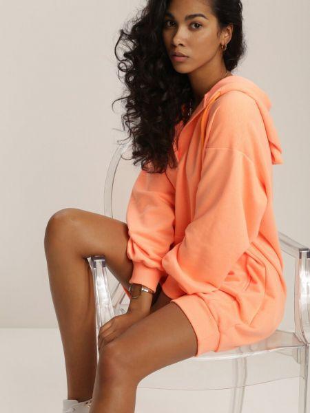 Pomarańczowa bluza dzianinowa Renee