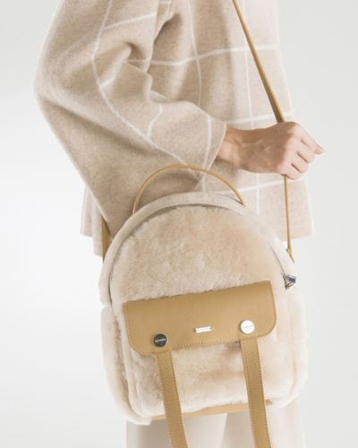 Кожаная сумка маленькая большая Max & Moi