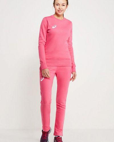 Розовый спортивный костюм Asics