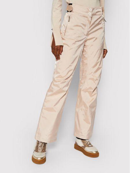Spodni beżowy klasyczne spodnie Spodnie Narciarskie Rossignol