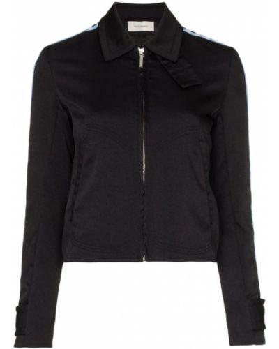 Черная куртка Wales Bonner