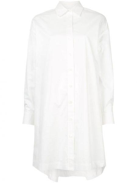 Платье макси длинное - белое Ck Calvin Klein