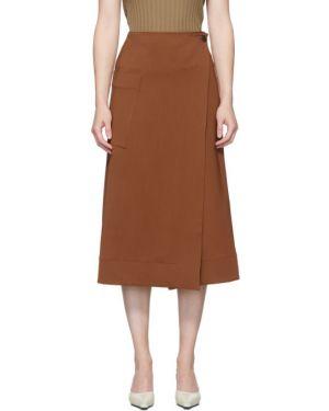 Черная юбка с карманами Studio Nicholson