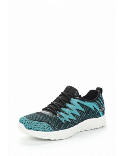 Голубые кроссовки Skechers