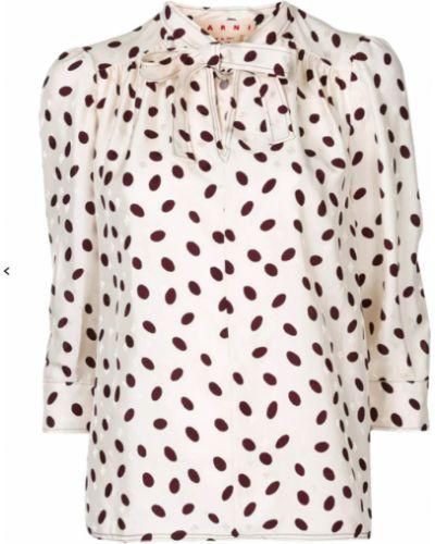 Beżowa koszula Marni