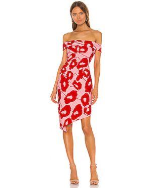 Платье миди на молнии с оборками Milly