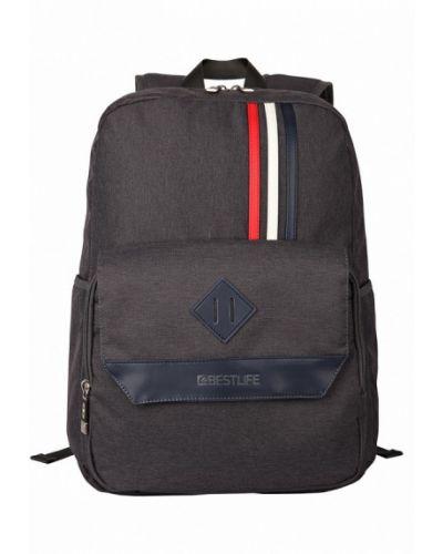 Серый рюкзак городской Bestlife