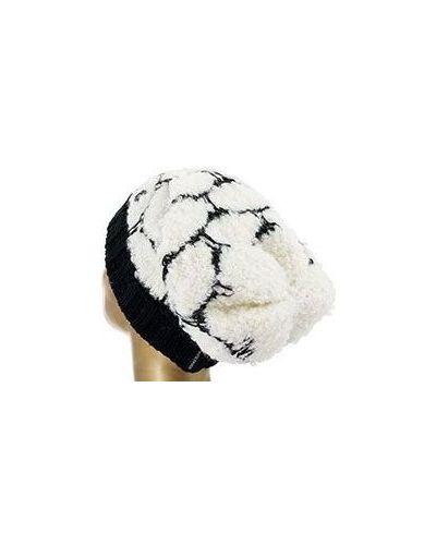 Белая шапка Armani Jeans