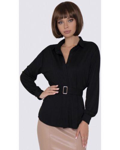 Черная блузка с длинными рукавами Anushka By Anna Pavlova