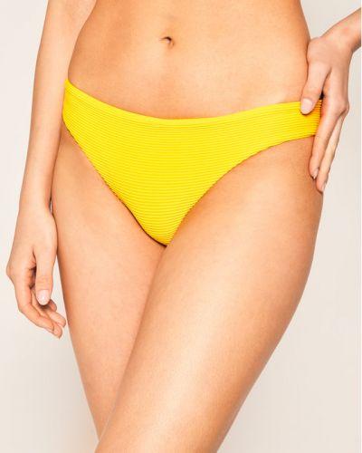 Żółty bikini Seafolly