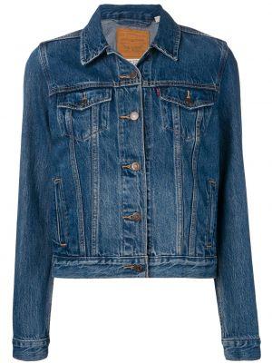 Синяя куртка с воротником с карманами Levi's®