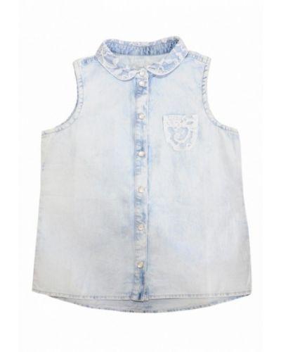 Джинсовая рубашка голубой Бемби