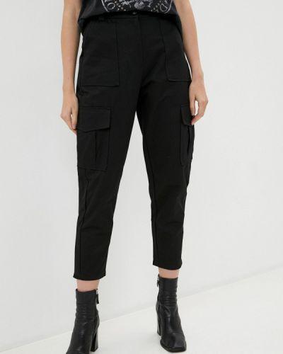 Черные брюки карго B.style