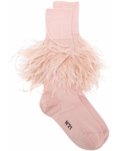 Розовые носки N°21