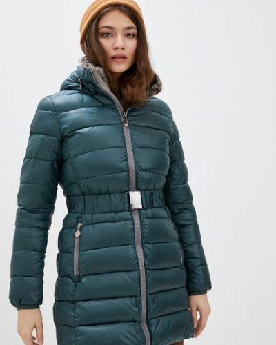 Зеленая утепленная куртка Z-design