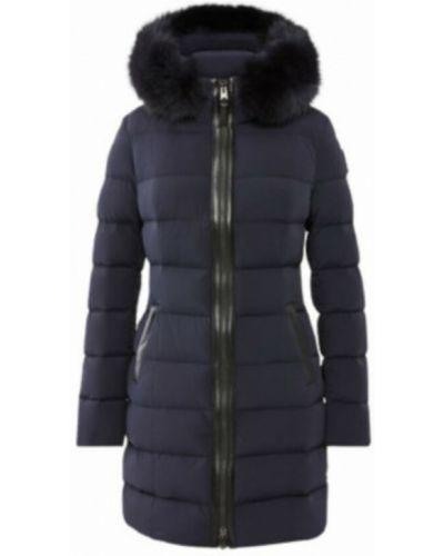 Niebieski płaszcz Mackage