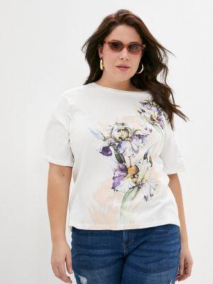Белая футболка с короткими рукавами Begood