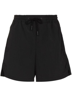 Черные шорты на шнуровке Paco Rabanne