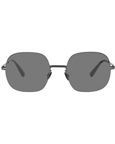 Okulary przeciwsłoneczne czarny srebro Mykita