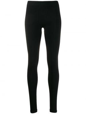 Czarne legginsy z printem Rick Owens