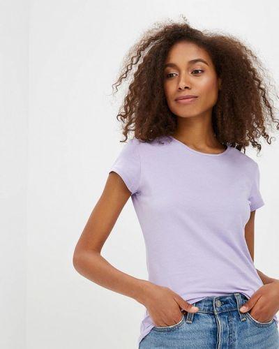 Фиолетовая футболка твое
