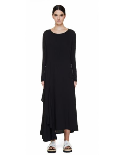 Платье макси в пол Yohji Yamamoto