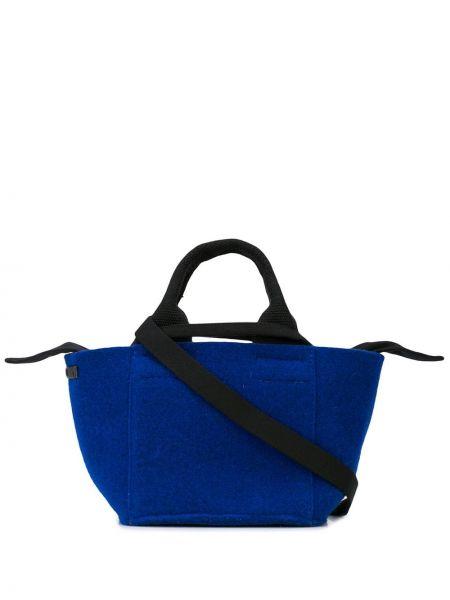 Синяя сумка Muun