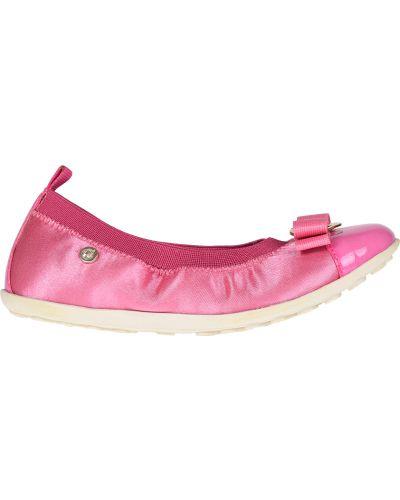 Розовые балетки резиновые Naturino