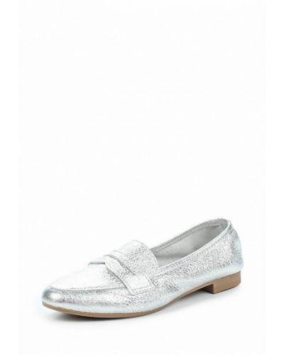 Кожаные туфли на плоской подошве Marco Tozzi