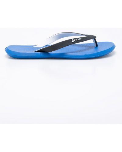 Синие сандалии резиновые Rider