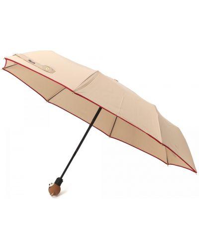Текстильный комбинированный зонт Moschino