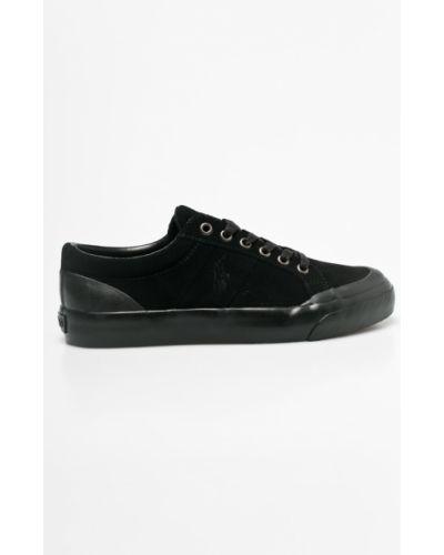 Кеды черные кожаный Polo Ralph Lauren