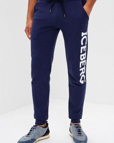 Синие спортивные брюки Iceberg