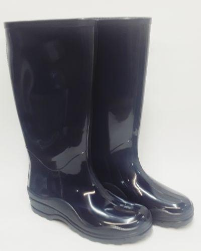 Резиновые сапоги на каблуке - бежевые Realpaks