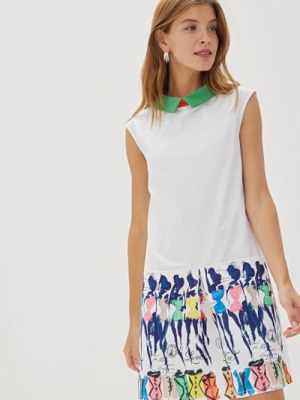 Платье - белое Ricamare