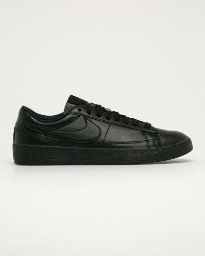 Czarna marynarka skórzana sznurowana Nike Sportswear