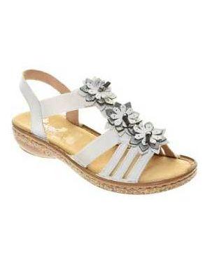 Босоножки на каблуке Rieker