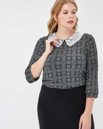 Блузка с длинным рукавом черная Magwear