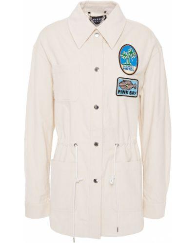 Ватная куртка вельветовая с пайетками Markus Lupfer