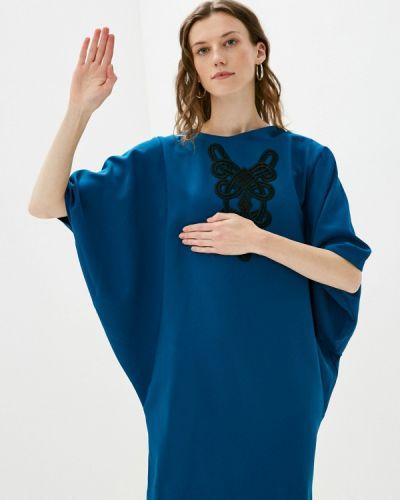 Платье - синее Aelite
