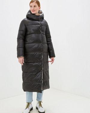 Зимняя куртка утепленная черная Ylluzzore
