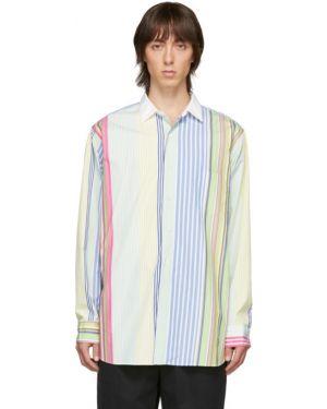 Koszula z długim rękawem długa z popeliny Beams Plus