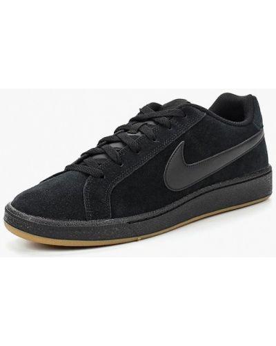 Низкие кеды замшевые Nike