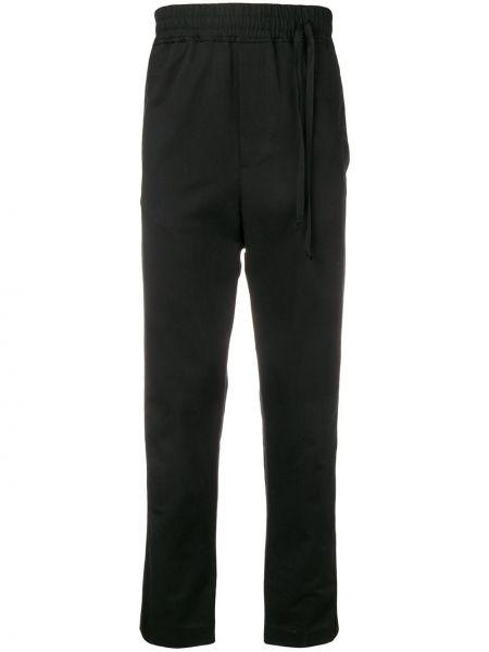 Черные спортивные брюки с карманами Damir Doma